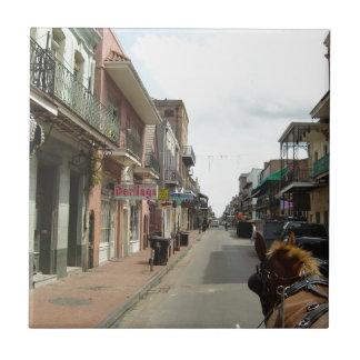 New Orleans French Quarter Ceramic Tile