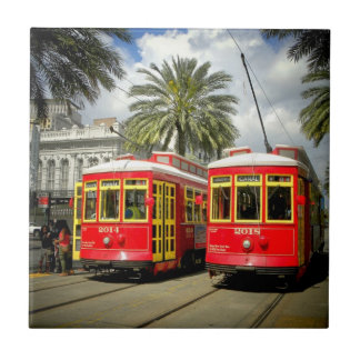 New Orleans French Quarter  Ceramic Tiles