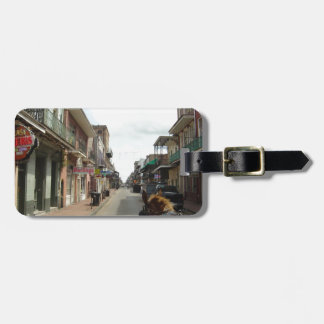 New Orleans French Quarter Luggage Tag
