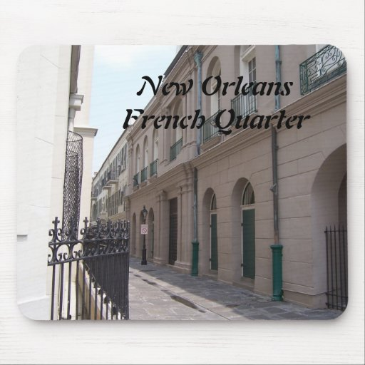 New Orleans French Quarter Mousepads