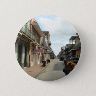 New Orleans French Quarter Pinback Button