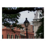 New Orleans French Quarter postage stamp Print
