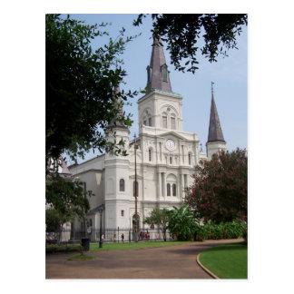 New Orleans French Quarter Postcard
