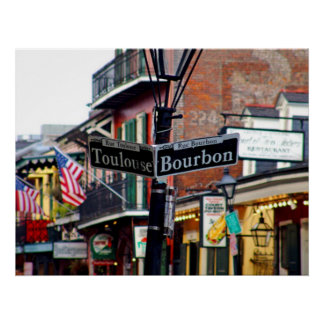 NEW ORLEANS FRENCH QUARTER POSTER