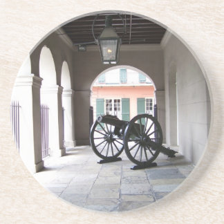 New Orleans French Quarter Sandstone Coaster