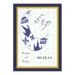 """New Orleans French Quarter Save the Date Cards 5"""" X 7"""" Invitation Card"""