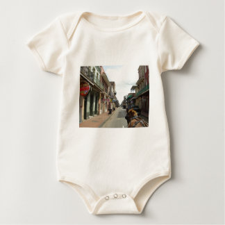New Orleans French Quarter Baby Bodysuits
