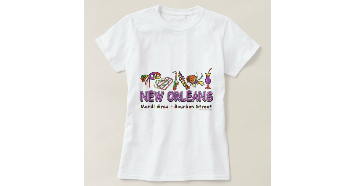 New orleans fun t shirt zazzle for T shirt printing new orleans