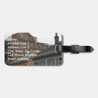 New Orleans Ghost Sign Luggage Tag