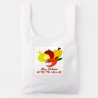 New Orleans Go For The Gumbo Reusable Bag