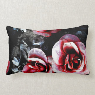 New Orleans Graveside Flowers Watercolor Pillow