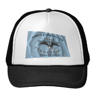 New Orleans Greys Flag Mesh Hats