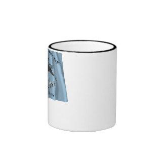 New Orleans Greys Flag Ringer Mug