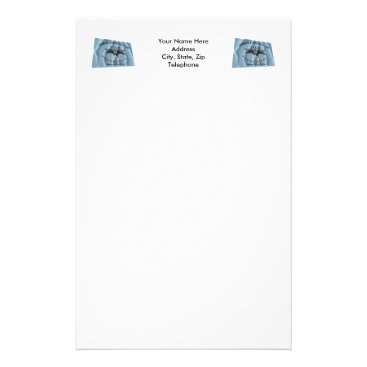 USA Themed New Orleans Greys Flag Stationery
