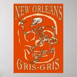 New Orleans Gris Gris Impresiones