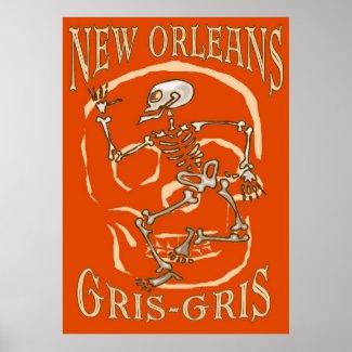 New Orleans Gris Gris print