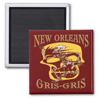 New Orleans Gris Gris Voodoo Magnet