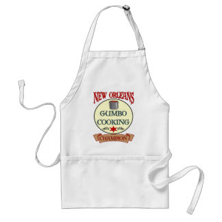 New Orleans Gumbo Cooking Champ Adult Apron