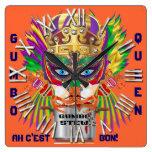 New Orleans Gumbo Queen View Hints plse Clock