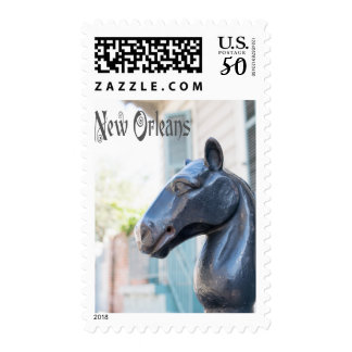 New Orleans Horse Hitching Post Postage