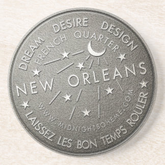 New Orleans Iconic Water Meter Sandstone Coaster
