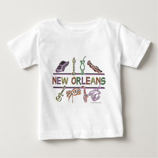 New-Orleans-ICONS- copy Baby T-Shirt