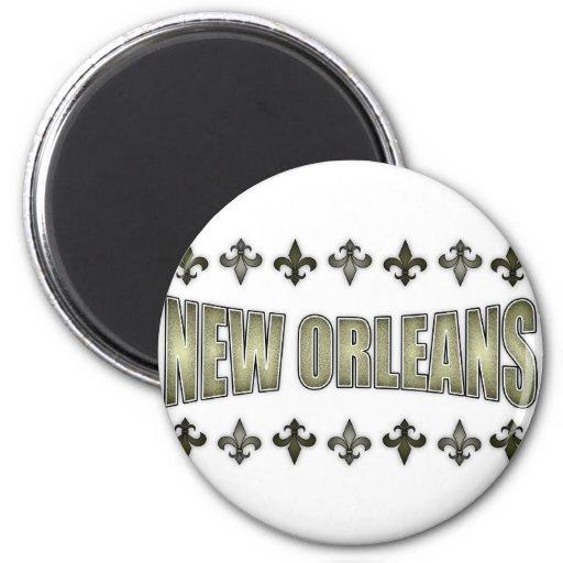 New Orleans Iman Para Frigorífico