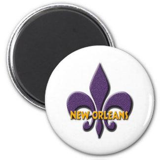 New Orleans Imán Redondo 5 Cm