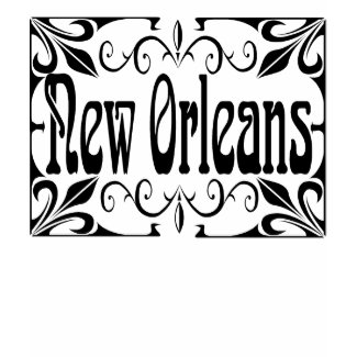 New Orleans In Wrought Iron shirt