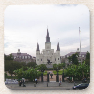 New Orleans Jackson Square Drink Coasters