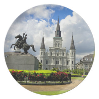 New Orleans Jackson Square Photography  Plate