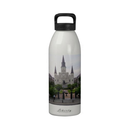 New Orleans Jackson Square Reusable Water Bottle