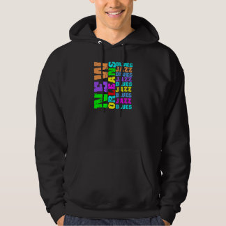 New Orleans jazz and blues Hoodie