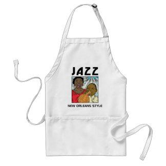 New Orleans Jazz Apron