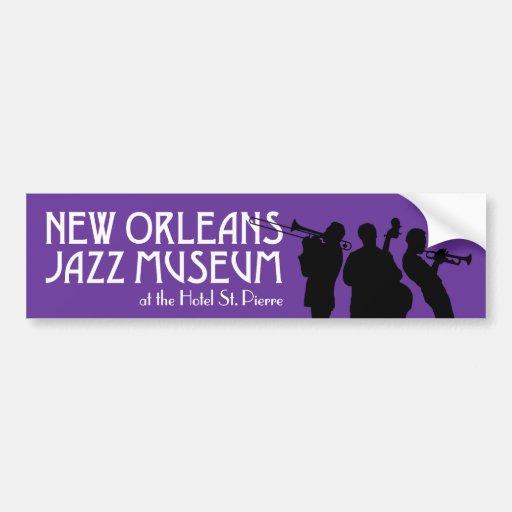 New Orleans Jazz Museum bumper sticker Car Bumper Sticker