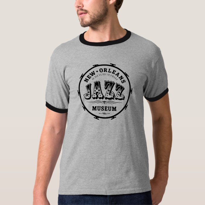 New orleans jazz museum drum t shirt zazzle for T shirt printing new orleans