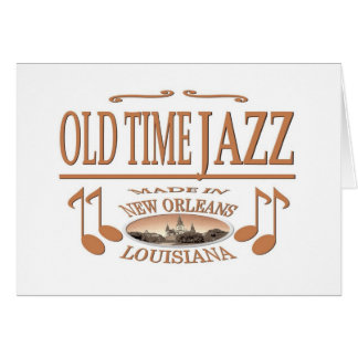 New Orleans Jazz Music Card