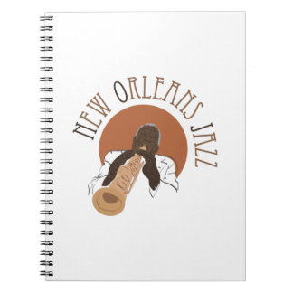 New Orleans Jazz Note Books