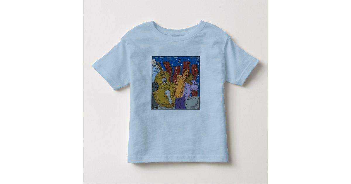 New Orleans Jazz Toddler T Shirt Zazzle