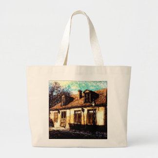 NEW ORLEANS JEAN LAFITTE HOUSE LARGE TOTE BAG