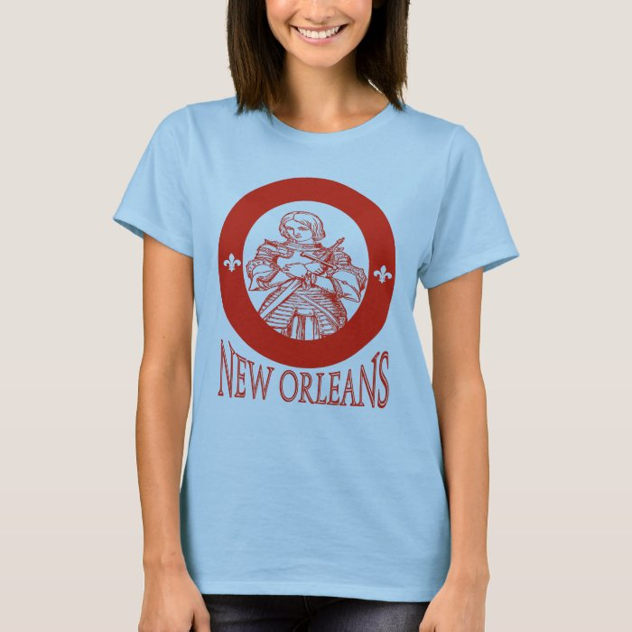 New Orleans Joan Of Arc T Shirt Zazzle
