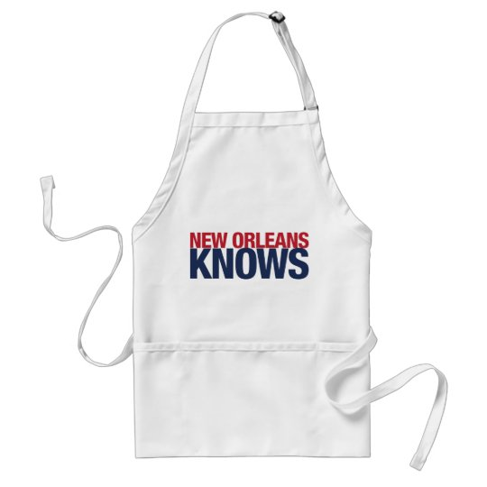 New Orleans Knows Adult Apron