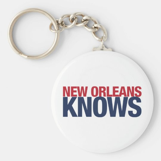 New Orleans Knows Keychain