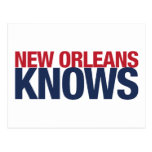 New Orleans Knows Postcard