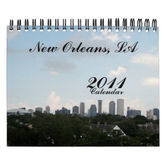 New Orleans, LA, 2011, Calendar