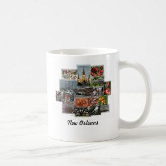 New Orleans Landmarks and Cusine Coffee Mug