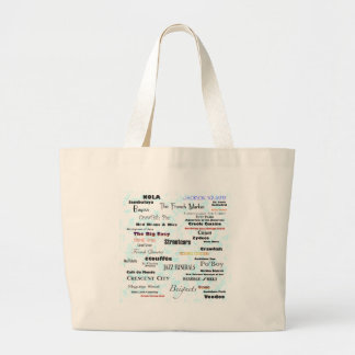 New Orleans Large Tote Bag