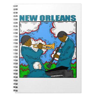 New Orleans Libretas Espirales