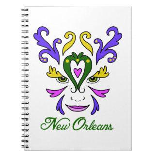 New Orleans Libro De Apuntes