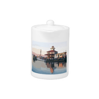 New Orleans Lighthouse Teapot